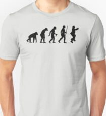 Evolution of Man - Gangnam Style Unisex T-Shirt