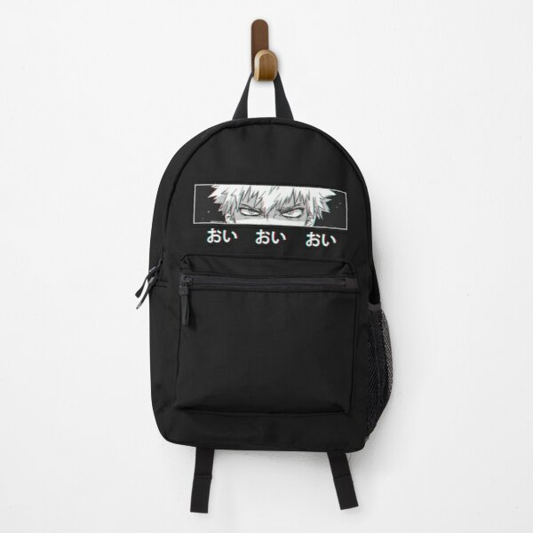 Bakugo 'Oi Oi Oi' BLACK Version Backpack