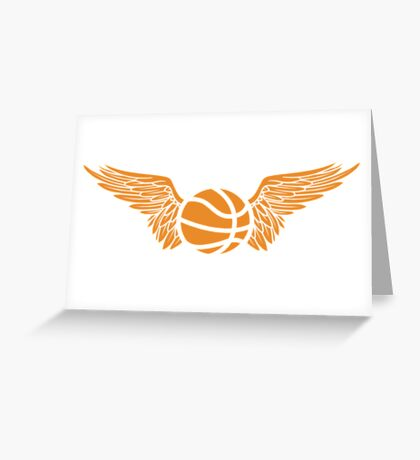 basketball wings Greeting Card