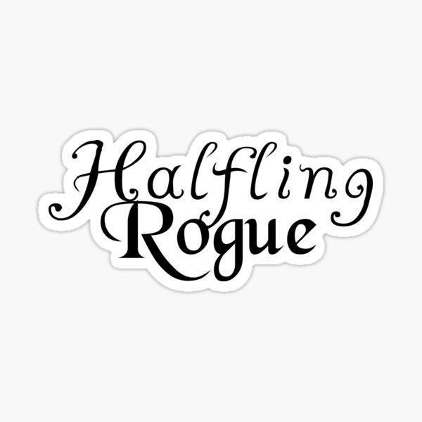 Halfling Rogue Sticker