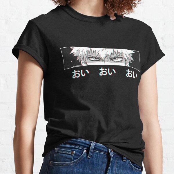 Bakugo 'Oi Oi Oi' Version NOIRE T-shirt classique