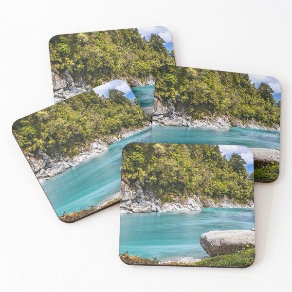 Hokitika Gorge 1 Coasters (Set of 4)