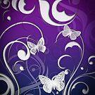 Butterfly swirl by Amanda-Jane Snelling