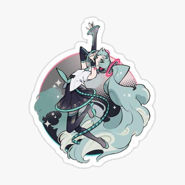 Miku Is Back Sticker
