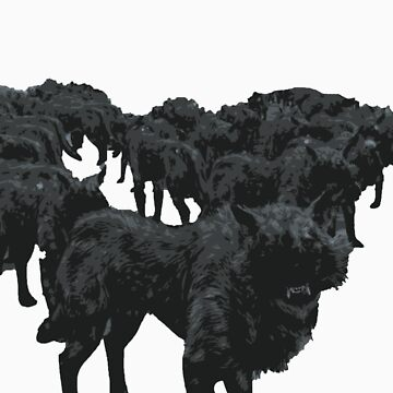 wolf by joshbuckling