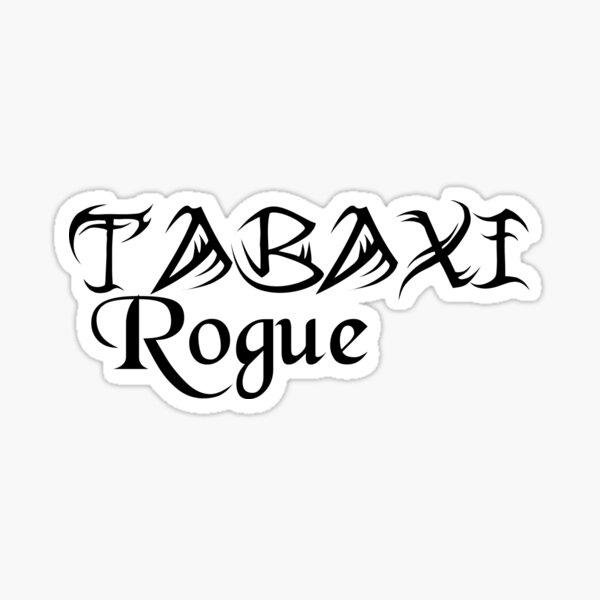 Tabaxi Rogue Sticker