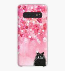 Falling Petals Case/Skin for Samsung Galaxy