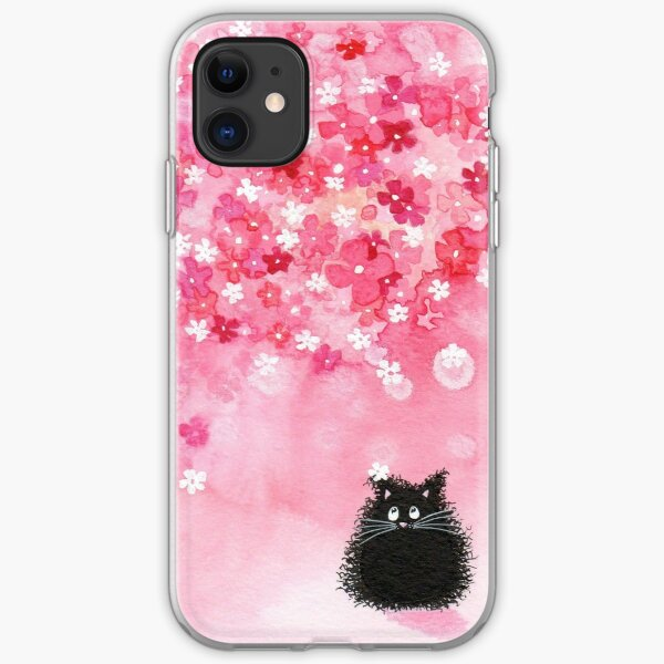 Falling Petals iPhone Soft Case
