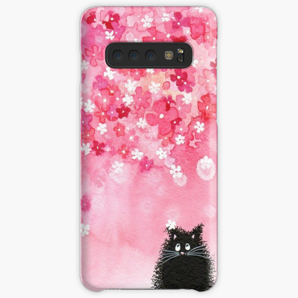 Falling Petals Case & Skin for Samsung Galaxy