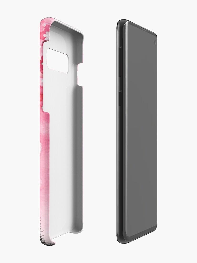 Alternative Ansicht von Fallende Blütenblätter Hülle & Klebefolie für Samsung Galaxy