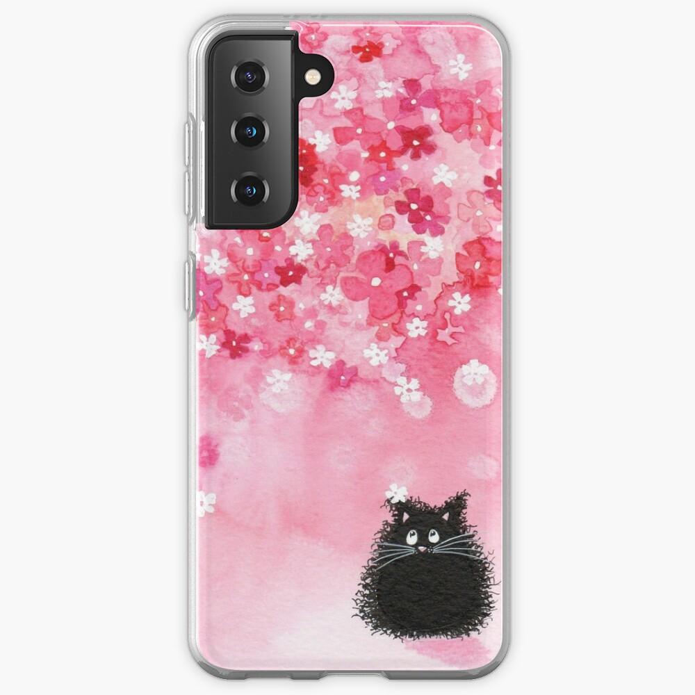 Falling Petals Case & Skin for Samsung Galaxy