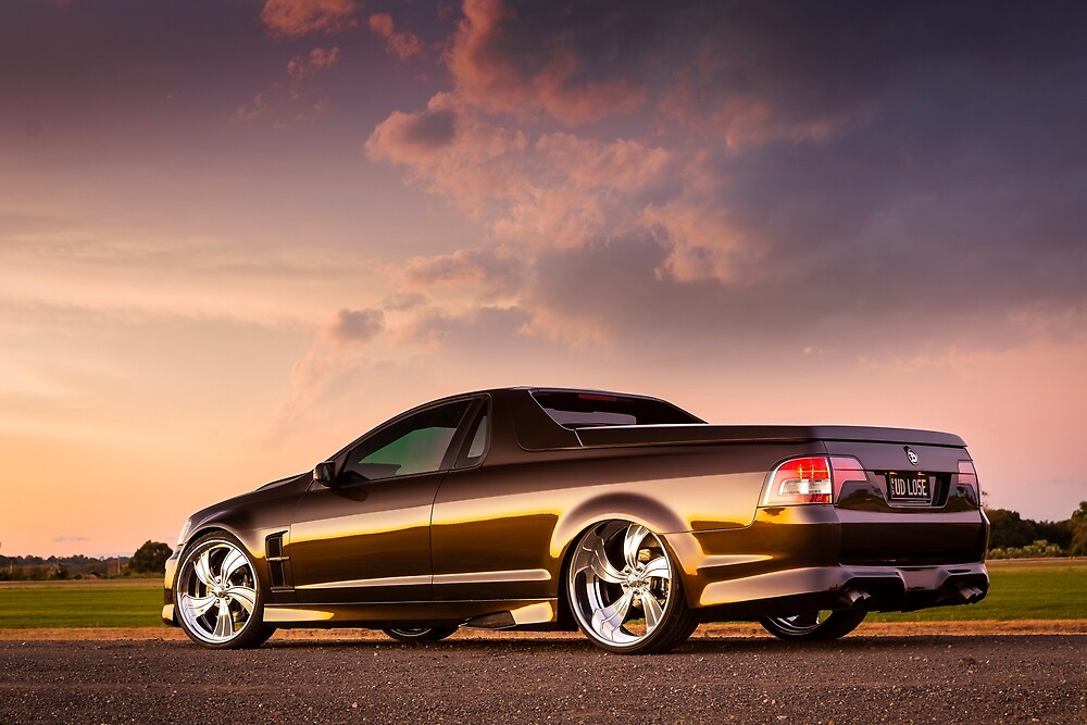 Peter Robson's Holden VE Commodore Ute by HoskingInd