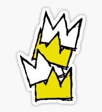 Stacked Crowns Sticker