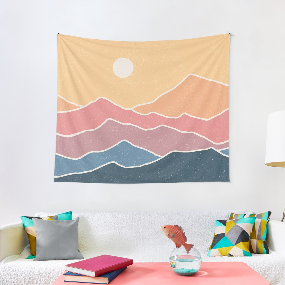 Range of Color Tapestry