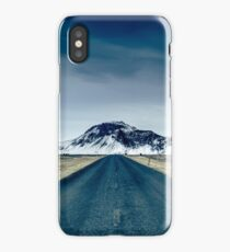 Country road in Iceland iPhone Case/Skin