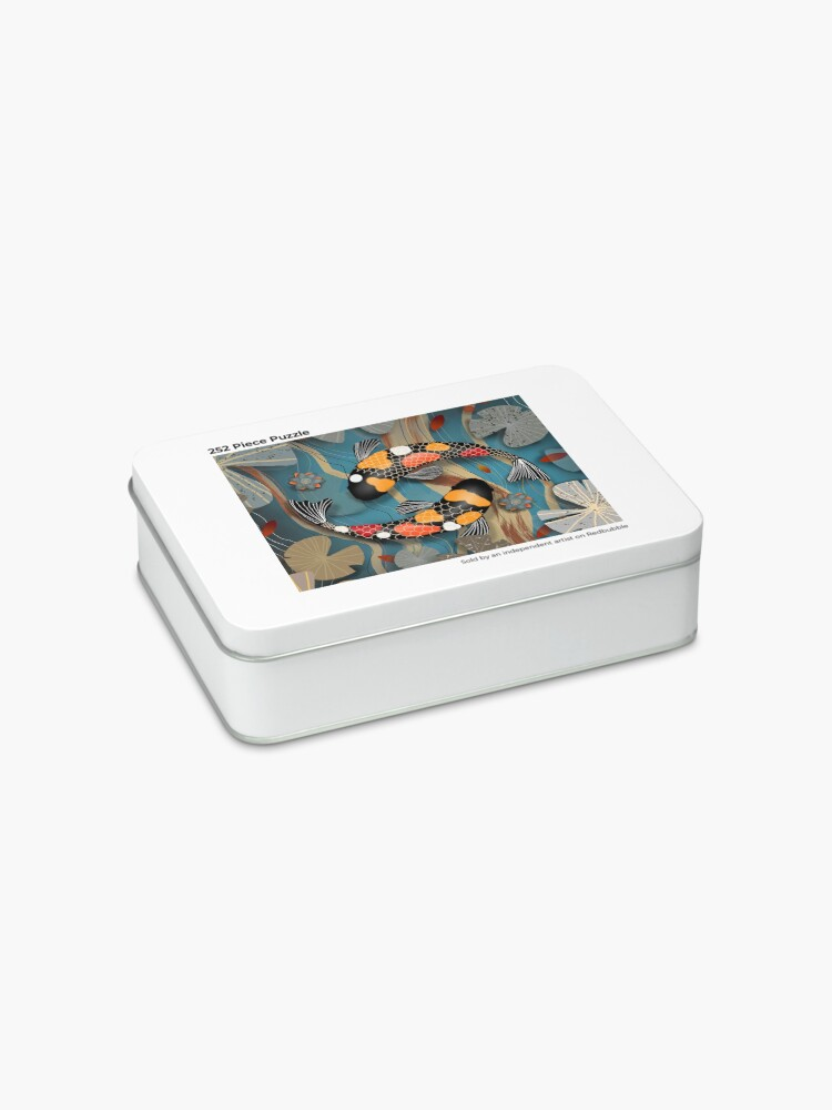 Alternate view of Koi Watergarden Jigsaw Puzzle