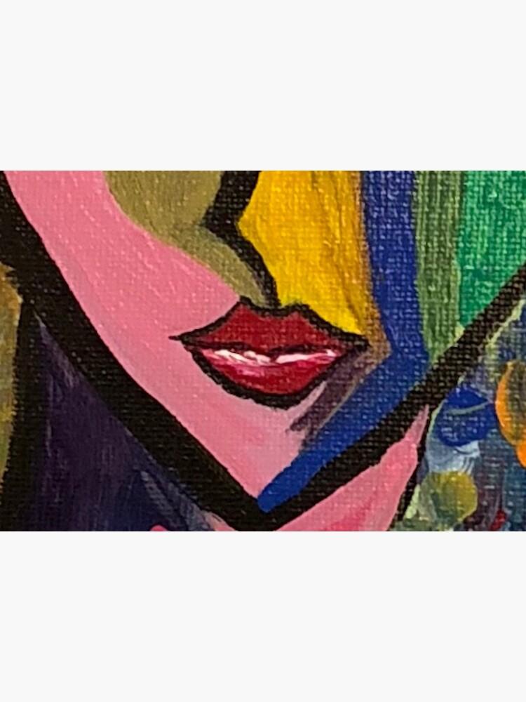 cubist woman by mamajoni