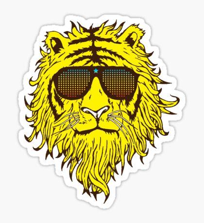 Liger (Rock Star) Sticker