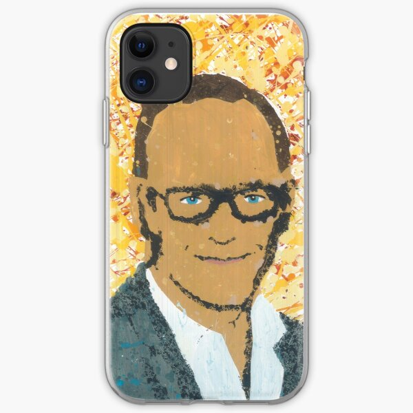 Phil Coulson Clark Gregg drip painting iPhone Soft Case