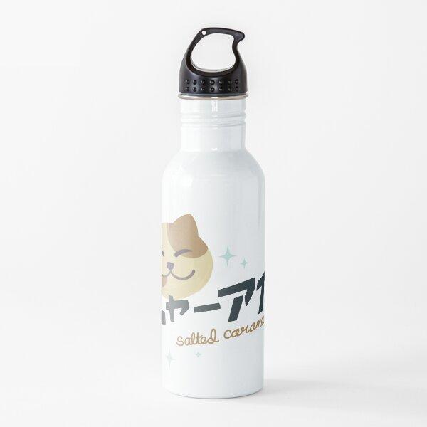 NYAAISU salted carameow logo Water Bottle
