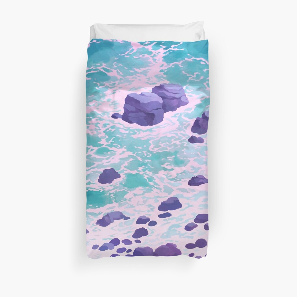 Time heals all wounds Duvet Cover