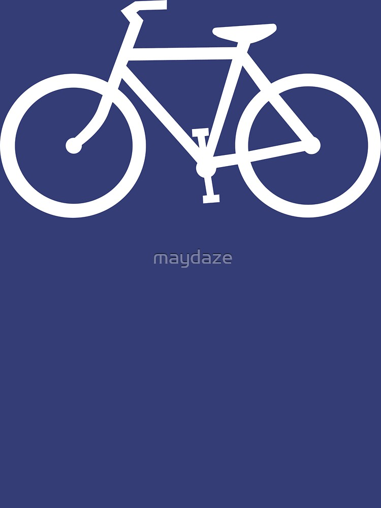 bicycle silhouette by maydaze