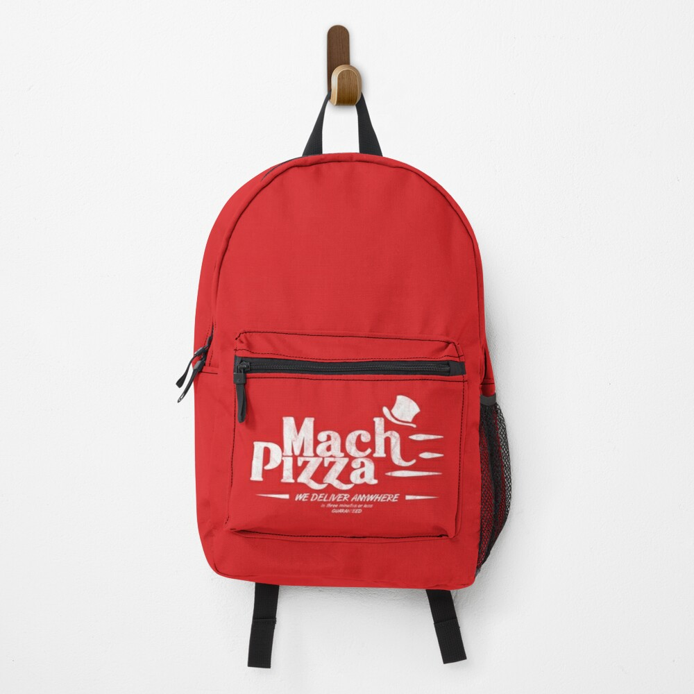 Mach Pizza (Earthbound) Backpack