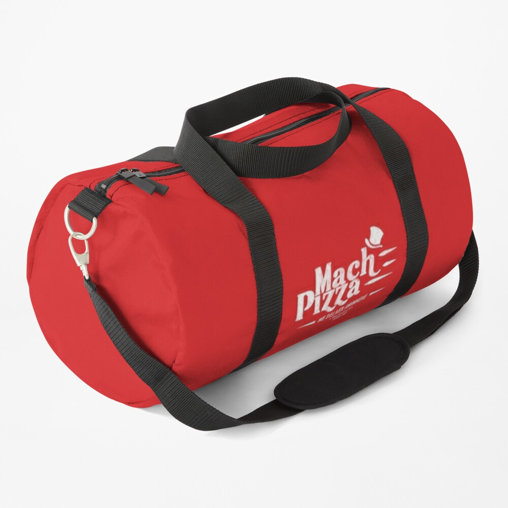 Mach Pizza (Earthbound) Duffle Bag
