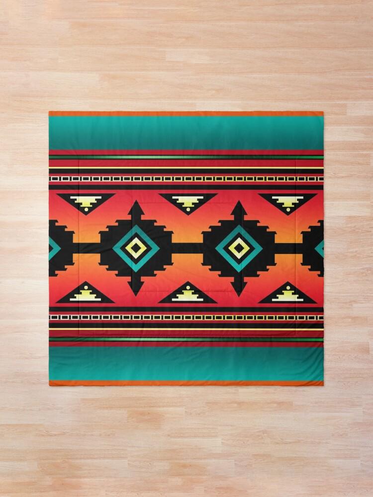 Alternate view of Canyon   Navajo  Comforter