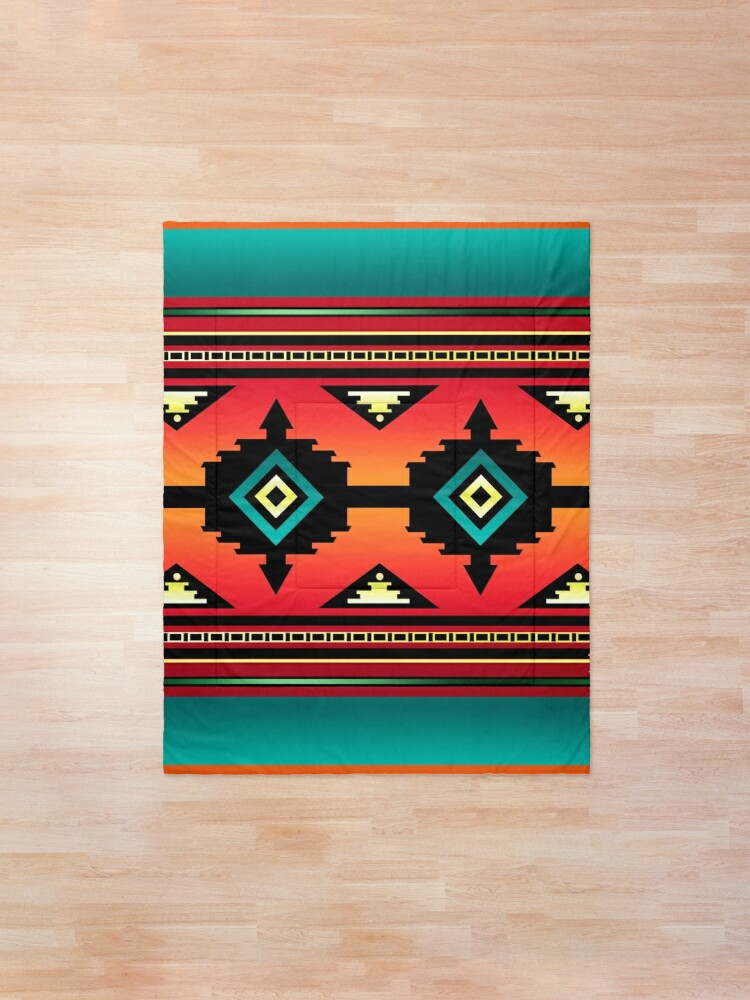 Alternate view of Canyon | Navajo  Comforter