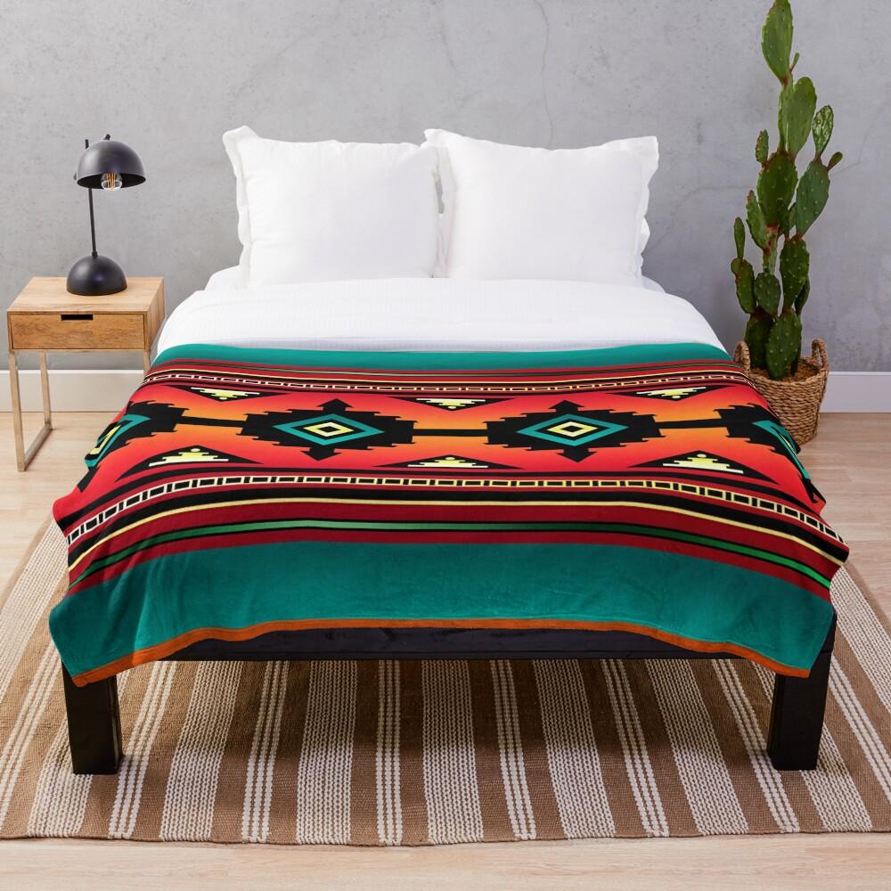Canyon | Navajo  Throw Blanket