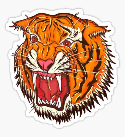 Tiger Tee Sticker