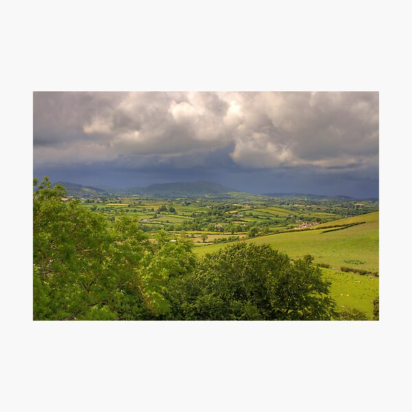 County Down Countryside Photographic Print