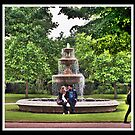 Regents Park: Lovers at the Fountain by JLaverty
