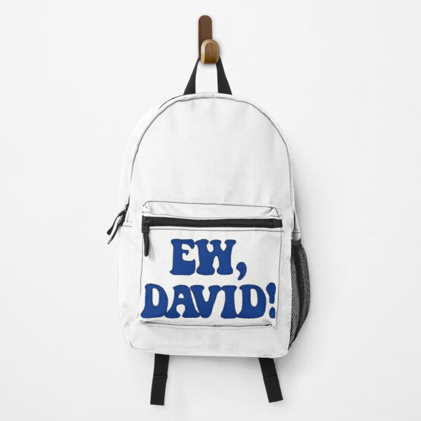 Ew, David! Backpack