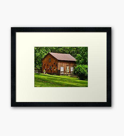 Grahmsville NY Country Barn Framed Print
