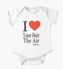Dr. Horrible Freeze Ray love your hair One Piece - Short Sleeve