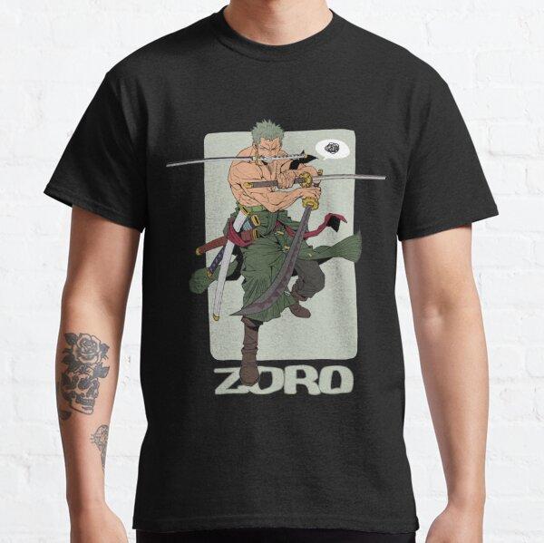 One Piece Zoro The Swordsman T-shirt classique