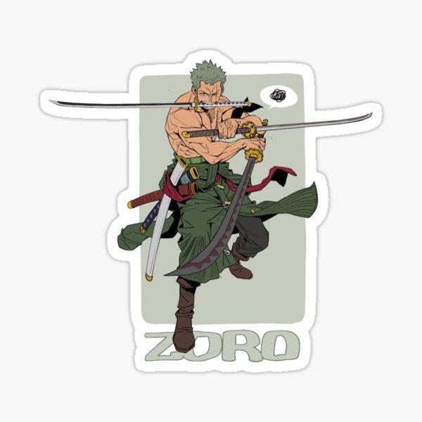 One Piece Zoro The Swordsman Sticker