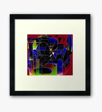 Inner Struggle Framed Print