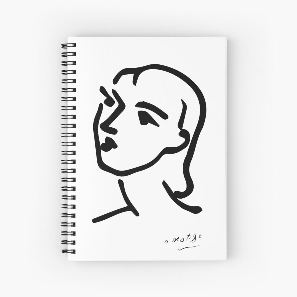 Matisse Nadia aux cheveux lisses