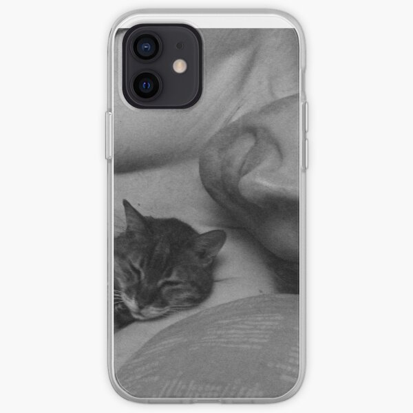 Cat nap with daddy's girl iPhone Soft Case