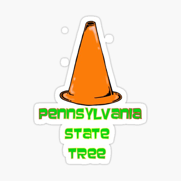 Pennsylvania State Tree Sticker