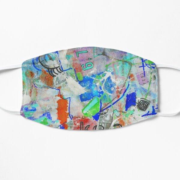 Kea Blue Flat Mask