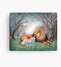 Aslan and Me Canvas Print
