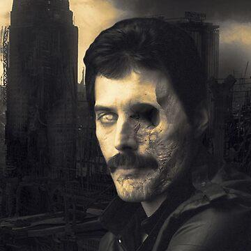 Zombie Freddie Mercury V1 by Ketchumificatio