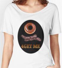 ✾◕‿◕✾DOUGHNUT (DOUGHKNOT) FORGET ME TEE SHIRT✾◕‿◕✾ Women's Relaxed Fit T-Shirt