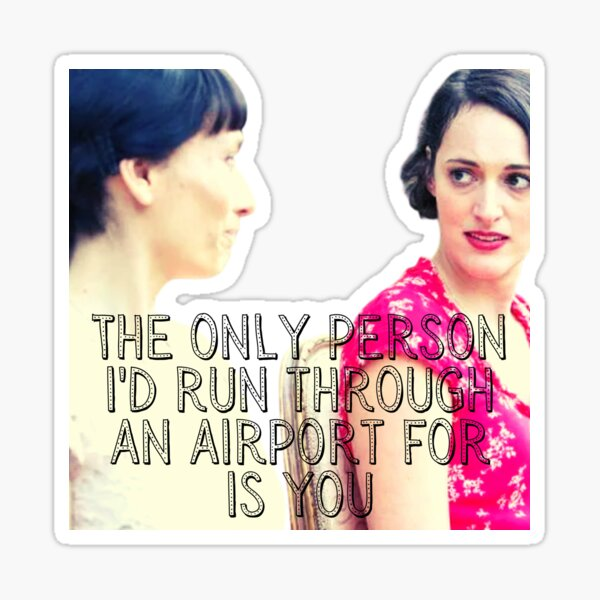 Claire and Fleabag, Sisterhood Sticker