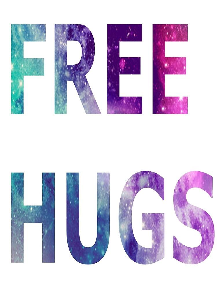 Galaxy Free Hugs by Fluffyslushy