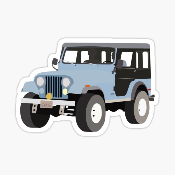 Stiles Jeep - Teen Wolf Sticker